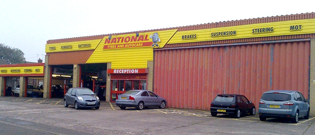 National Tyres and Autocare - Cannock branch