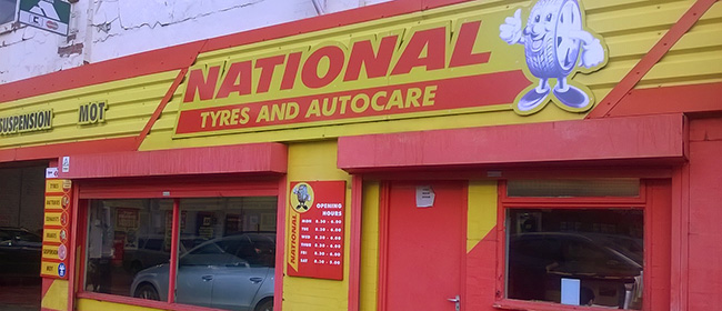 National Tyres and Autocare - Newcastle (West Road NE4) branch