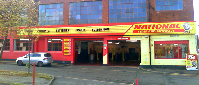 National Tyres and Autocare - Preston (Blackpool Road PR2) branch