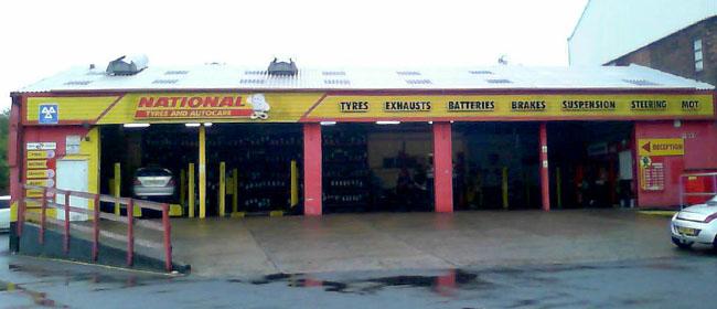 National Tyres and Autocare - Preston (Fylde Road PR2) branch