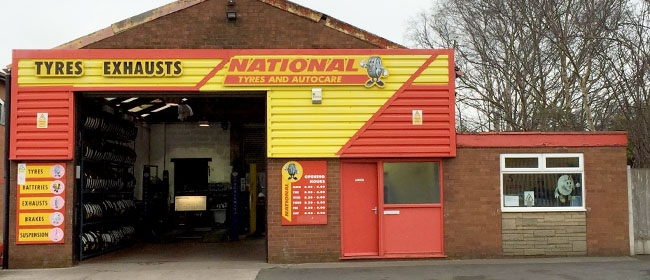 National Tyres and Autocare - Leyland branch