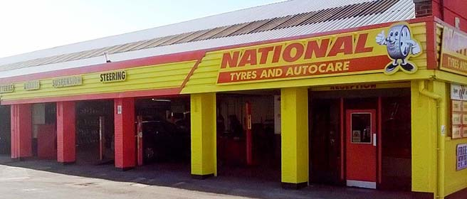 National Tyres and Autocare - Crewe branch