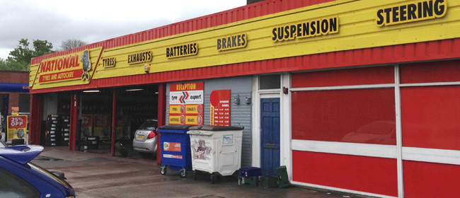 National Tyres and Autocare - Cheadle branch