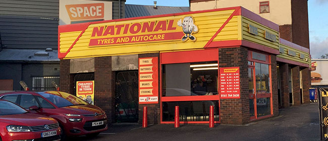 National Tyres and Autocare - Bury branch