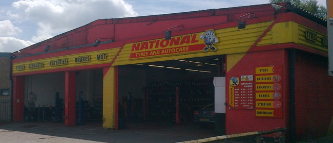 National Tyres and Autocare - Rochdale branch