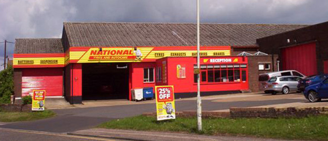 National Tyres and Autocare - Chelmsford branch
