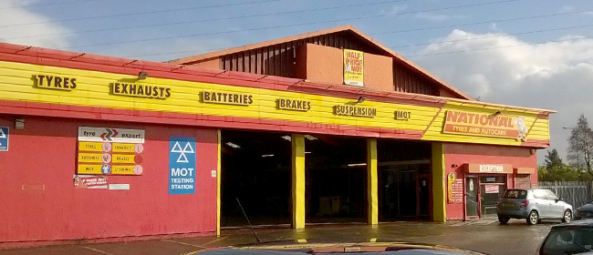National Tyres and Autocare - Widnes branch