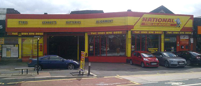 National Tyres and Autocare - Manchester (Chester Road M32) branch