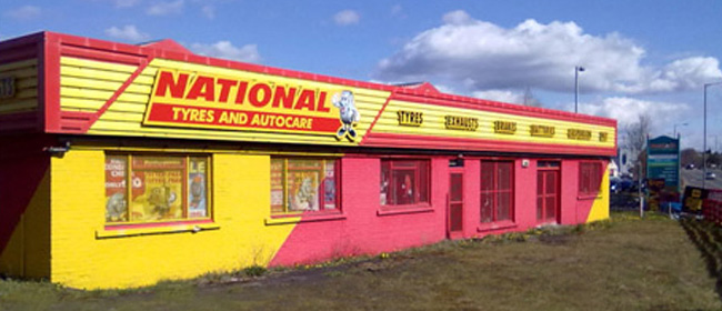National Tyres and Autocare - Kirkintilloch branch