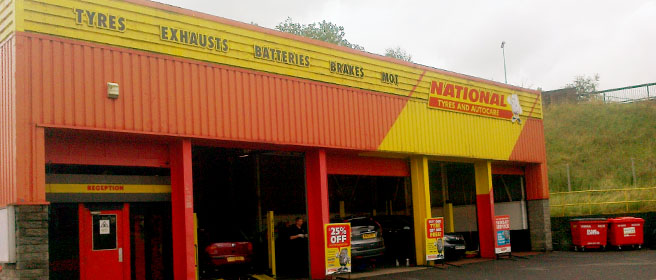 National Tyres and Autocare - Burnley branch