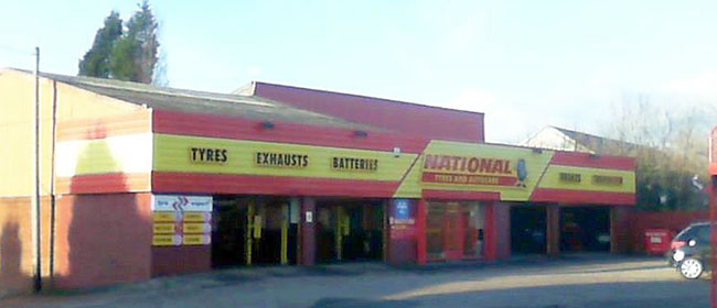 National Tyres and Autocare - Newcastle-Under-Lyme branch