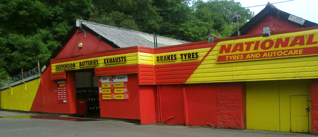 National Tyres and Autocare - Pontypridd branch