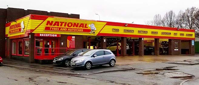 National Tyres and Autocare - Warrington (Green Street WA5) branch