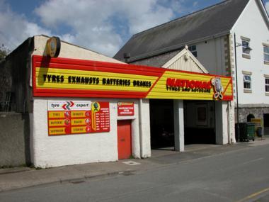 National Tyres and Autocare - Caernarfon branch