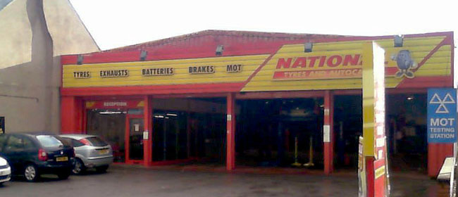 National Tyres and Autocare - Chester branch