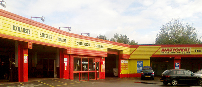 National Tyres and Autocare - Cardiff (Cowbridge Road East CF5) branch