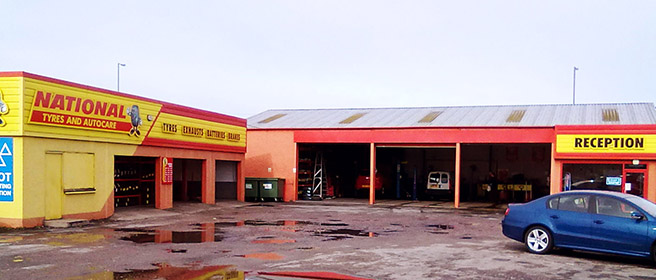 National Tyres and Autocare - Elgin branch