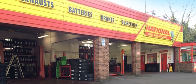 National Tyres and Autocare - Maidstone branch