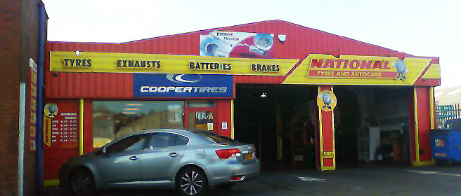 National Tyres and Autocare - Carmarthen branch