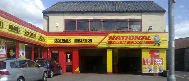National Tyres and Autocare - Street branch