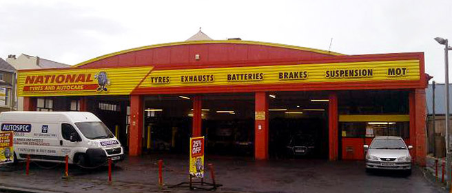 National Tyres and Autocare - Blackpool (Bond Street FY4) branch