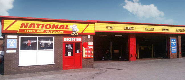 National Tyres and Autocare - Bolton branch