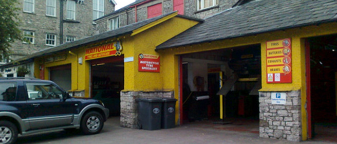 National Tyres and Autocare - Kendal branch