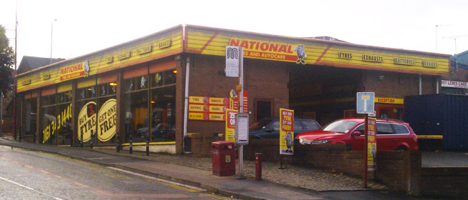 National Tyres and Autocare - Dukinfield branch