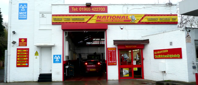 National Tyres and Autocare - Worcester  branch