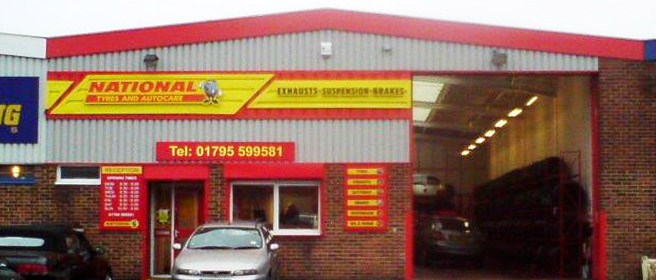 National Tyres and Autocare - Sittingbourne branch