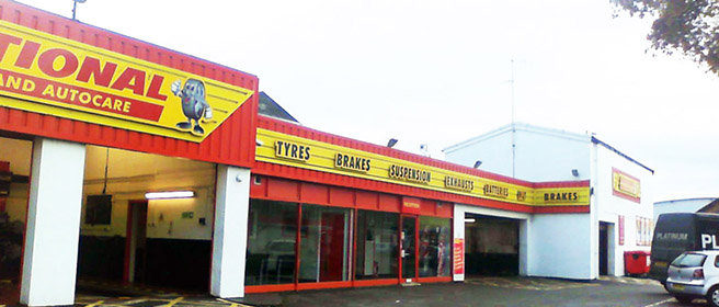 National Tyres and Autocare - Byfleet  branch