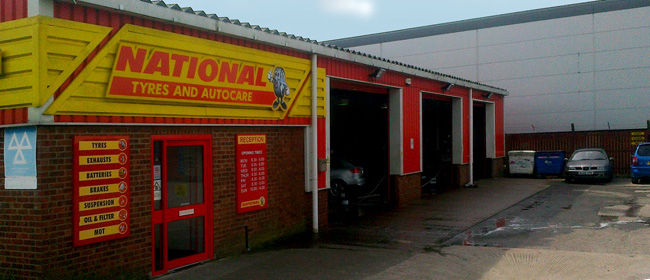 National Tyres and Autocare - Selby branch