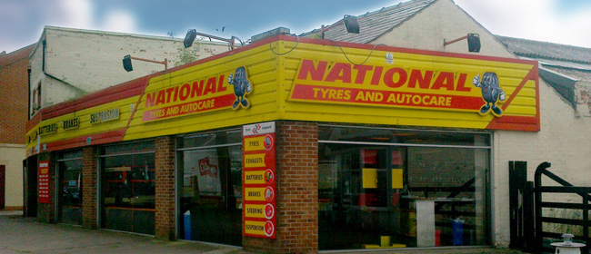National Tyres and Autocare - Bridlington branch