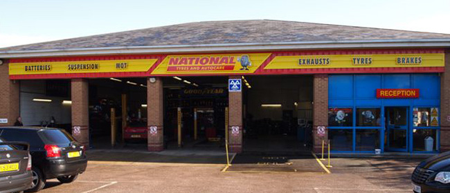 National Tyres and Autocare - Grays branch