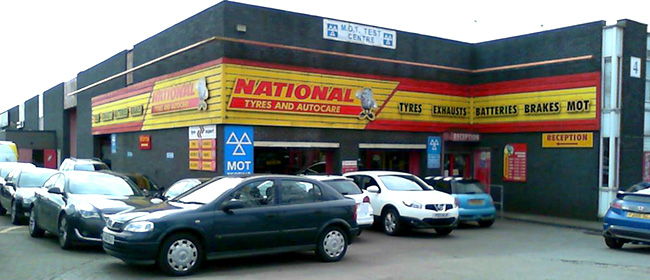 National Tyres and Autocare - Derby branch