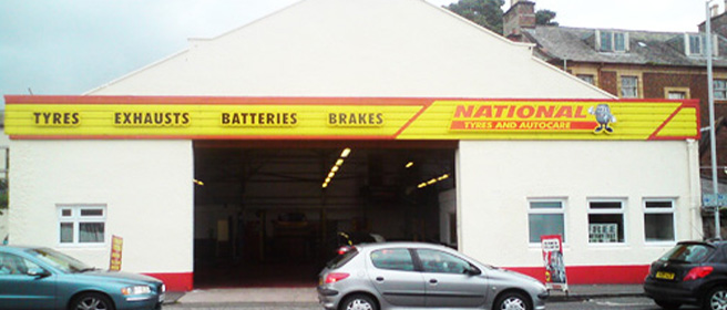 National Tyres and Autocare - Dumfries branch
