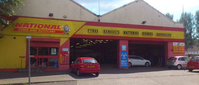National Tyres and Autocare - Glasgow (Paisley Road West G52) branch