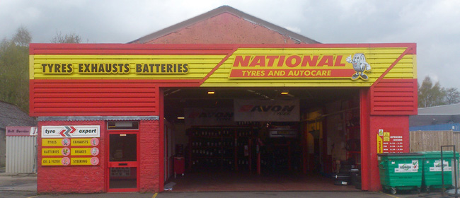 National Tyres and Autocare - Stirling branch