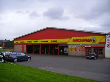 National Tyres and Autocare - Bishop Auckland branch