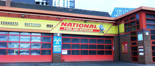 National Tyres and Autocare - Newcastle (Bath Lane NE4) branch