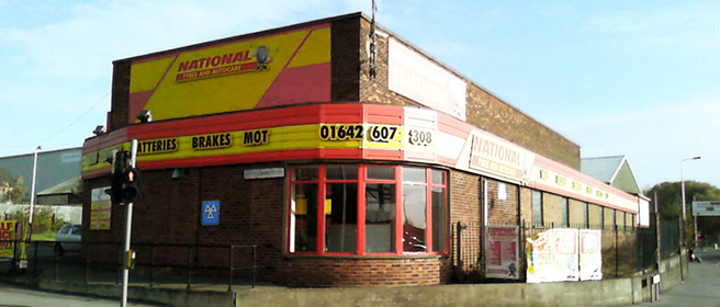 National Tyres and Autocare - Stockton branch