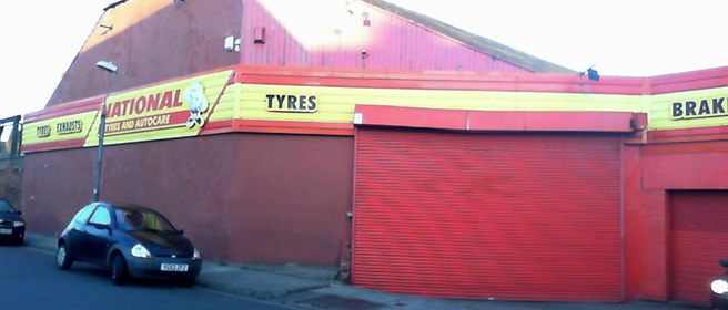 National Tyres and Autocare - Hartlepool branch