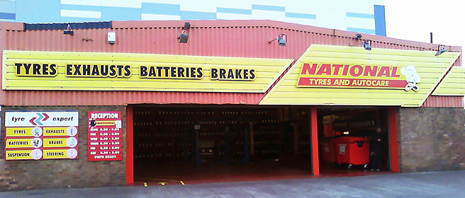 National Tyres and Autocare - Blyth branch