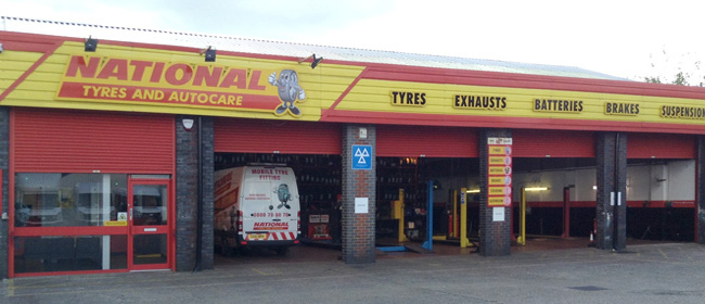 National Tyres and Autocare - Bletchley branch