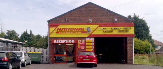 National Tyres and Autocare - Ormskirk branch