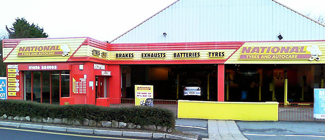National Tyres and Autocare - Newton Abbot branch