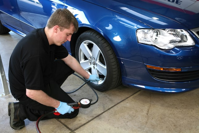 What is the correct tyre pressure for my car?